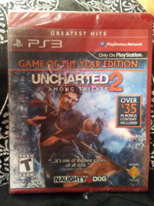 PS3 **UNCHARGED-2**  [BRAND NEW]