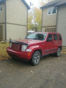 Jeep Liberty Sport 2008 - Best to drive on Winter