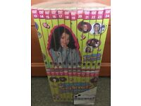 Complete Tracy Beaker dvd collection plus film, game and clock.