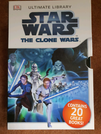 DK STAR WARS - THE CLONE WARS 20x Book Box Set Ultimate Library