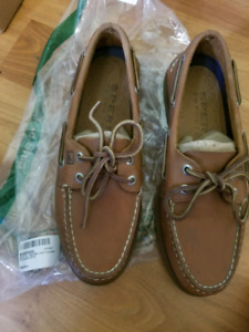 Sperry Top Sider Mens Leather Boat Shoes - Brand New Size 7 Mens