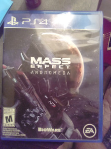 Unused Mass Effect Andromeda ps4
