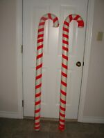 Candy Canes (foam) - Decor 48 inches tall