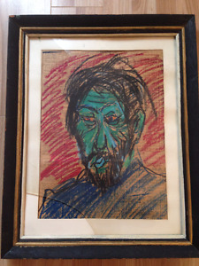 2 toiles originales de Georges St-Pierre, artiste-peintre