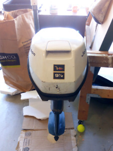 1968 Johnson 9.5 HP outboard motor for parts