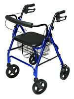 Walkabout Hemi Deluxe Rollator - Free & Fast Delivery