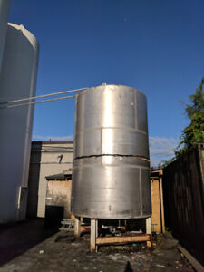 7925 US Gallon Stainless Steel Vertical Liquid Tank