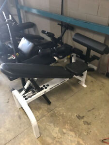 Weight Lifting Benches and squat rack