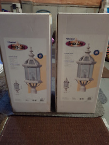 Outdoor Lanterns Brand New Never Opened