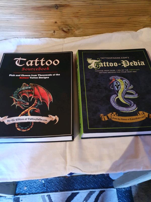 2 X Large Tattoo Books In Rainham London Gumtree