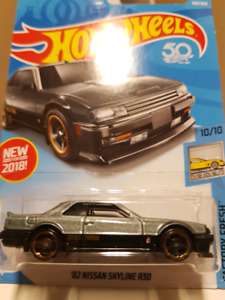 Hot wheels 82 Nissan Skyline R30 grey
