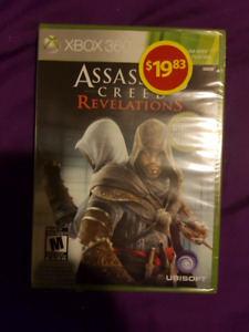 Brand new still in wrapper assassin's creed  game for Xbox 360