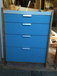 2 Four Drawer Dressers/Cabinets $60 each