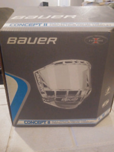Bauer face shield brand new