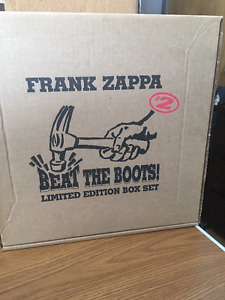 FRANK ZAPPA BEAT THE BOOTS BOX SET CD'S