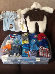 BABY BOY APPAREL   3-6 months