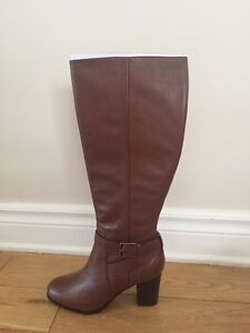 Brand new designer boots never worn