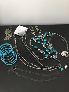 A selection of Jewellery - Bracelet and Necklaces