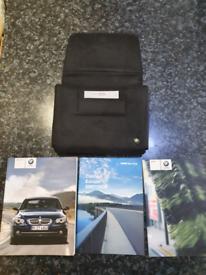 Owners manual book BMW series 5