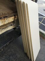 Load of white shelfs wood
