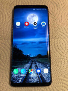 Galaxy S9 Plus  - Unlocked, incl. accessories