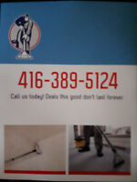 We do a carpet cleaning