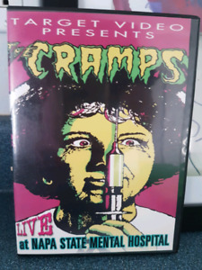 The CRAMPS dvd - Live at MENTAL HOSPITAL