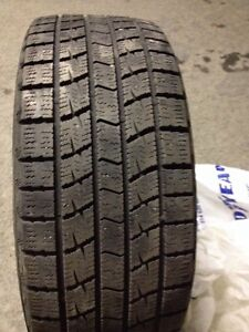 Two winter tire in a  very good condition  West Island Greater Montréal image 3
