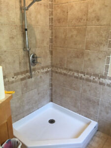 """MAAX Manhatten Shower Base for 36""""x36"""" neo angle shower"""