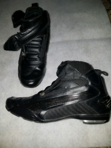 Puma motorcycle shoes.