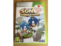 Sonic Xbox 360 game