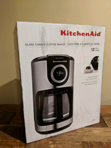 Kitchen Aid Glass Carafe Coffee Maker - Brand New and Sealed