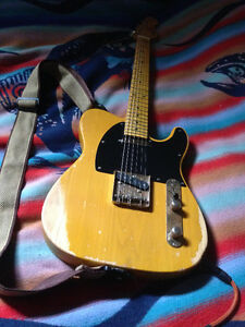 Vintage Icon v52 - with Dimarzio Area T pickups (noiseless)