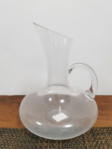BN*** Akemi Uchi Judson glass Wine Decanter with handle 1.6 litre