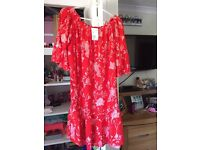 Brand new with tags top/dress