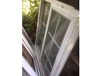 White double glassed Windows