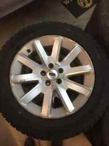 "18""  Ford Alloy Rims & Tires"