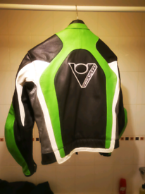 Rev-it leather jacket vgc