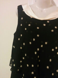 Black & White, 'Jacques Vert' Holiday Party Dress - Size 10
