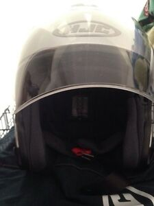 3/4 silver HJC helmet BRAND NEW Kawartha Lakes Peterborough Area image 5