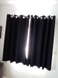 Black (blackout) curtains