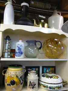 COUNTRY KITCHEN DECOR CROCKS WEST GERMANY KETTLES & MORE!