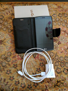 LG G4 with case, charger and original box