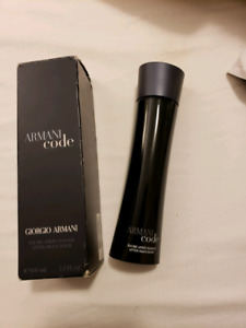 Armani code aftershave balm 100 ml