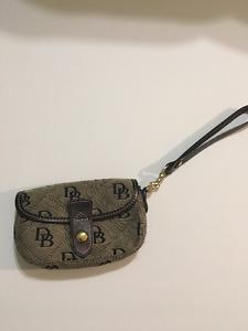 Authentic Dooney and Bourke wristlet