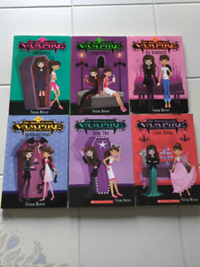 """6x """"My Sister the Vampire"""" Chapter Books (ages 9-12)"""