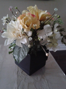 Ceramic Pot Centerpiece