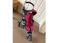 Children's Toy 3 wheeled pushchair from John Lewis