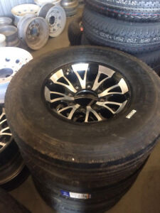 Brand New 235/80/R16 14PLY HD Trailer tires on Alloys