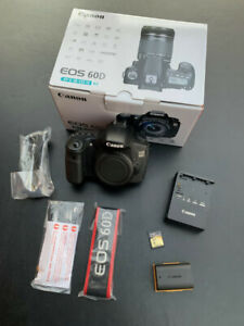 Canon EOS 60D Digital SLR Camera with EFS 18-55mm lens